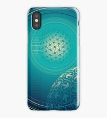 arrow motion with Business background iPhone Case/Skin