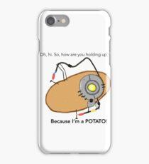 GladOs Potato iPhone Case/Skin
