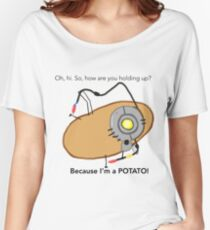 GladOs Potato Women's Relaxed Fit T-Shirt