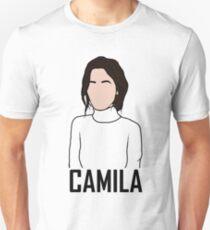 Outline of Camila Cabello Unisex T-Shirt