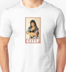 Kelly Kapowski Saved by the Bell Slim Fit T-Shirt