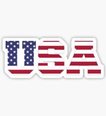 USA stricken Textur Sticker