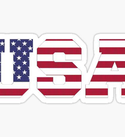 USA Knit Texture Sticker