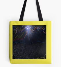 LIVE IN THE RIVER OF LIFE Tote Bag