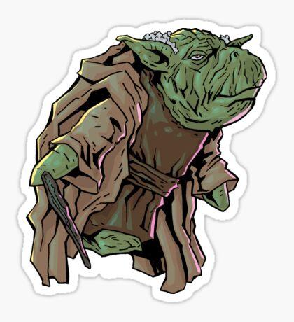 Yoda 2 Sticker