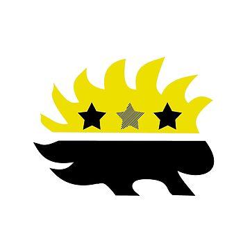 Libertarian Porcupine by Sundancerox
