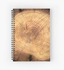Inside a cypress Spiral Notebook