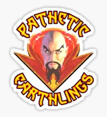 Ming the Merciless - Pathetic Earthlings Variant Two Sticker