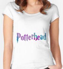 Potterhead #1 Women's Fitted Scoop T-Shirt