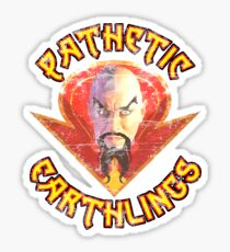 Ming the Merciless - Pathetic Earthlings Distressed Variant Sticker