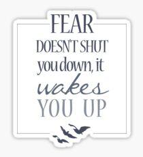 Fear   Divergent  Sticker