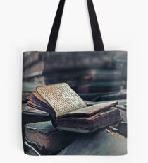 Old Books. Wingspread Poetry Tote Bag