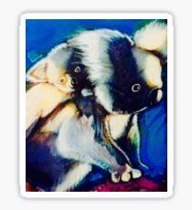 Koala baby on back Sticker