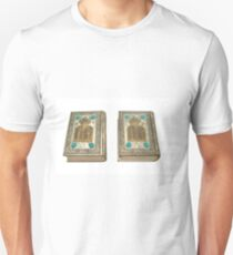 Jewish Sidur (prayer book) for the high holidays of Rosh Hashana and Yom Kippour On white Background T-Shirt