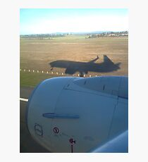 Shadow plane Photographic Print