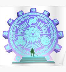 The Legend of Zelda - Door of Time Poster