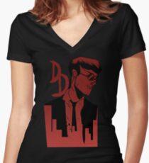 Daredevil Women's Fitted V-Neck T-Shirt