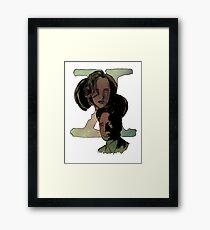X-Files Framed Print