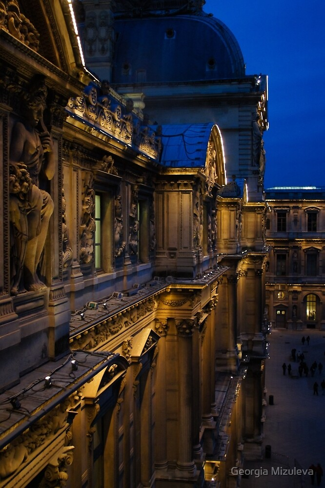 The Louvre - a Royal Palace, a Museum, an Architectural Marvel by Georgia Mizuleva