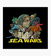 SEA WARS! Photographic Print