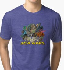 SEA WARS! Tri-blend T-Shirt
