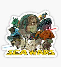 SEA WARS! Sticker