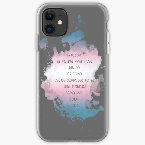 Trans Pride iphone 11 case