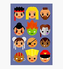 Street Fighter 2 Mini Photographic Print
