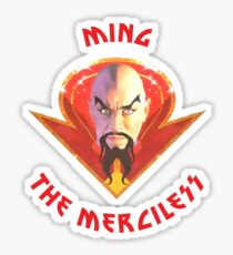 Ming the Merciless - Solo Red Variant  Sticker