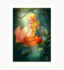 Mermaid Lagoon Art Print
