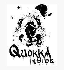 Quokka Inside Photographic Print