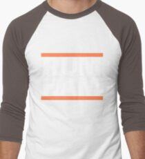 Rum Ham Orange Men's Baseball ¾ T-Shirt