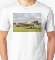 Spitfire LF.VcTrop G-LFVC JG891/TB Unisex T-Shirt