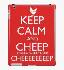 Keep Calm and Cheep iPad Case/Skin