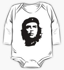 CHE, Che Guevara, Revolution, Marxist, Revolutionary, Cuba, Power to the people! Black on White Kids Clothes