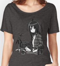 CAMERA. Women's Relaxed Fit T-Shirt