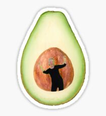Avocado-Dame Sticker
