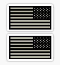 US Army Patch Reverse Sticker