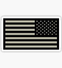 Pegatina Bandera del ejército de Estados Unidos reversa