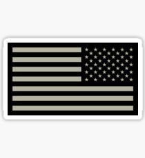 US Army Flag Reverse Sticker