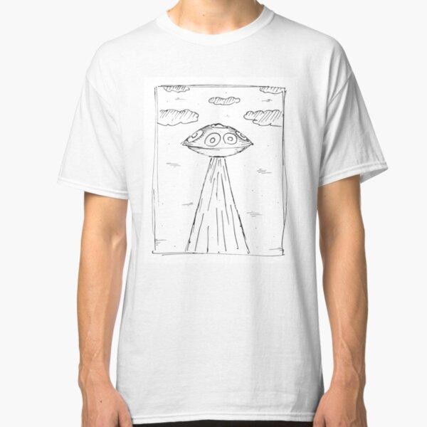 Handpan Pantam Alien Classic T-Shirt