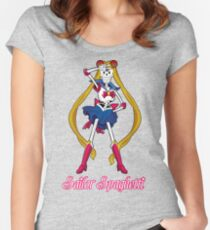 Undertale Sailor Papyrus Women's Fitted Scoop T-Shirt