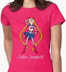 Undertale Sailor Papyrus Womens Fitted T-Shirt