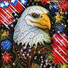 Dream Deeply Eagle by WildestArt