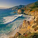 Rocky Creek Point, Big Sur, California by Maria Draper