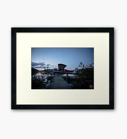 Air Saguenay - Seaplane Photo Framed Print