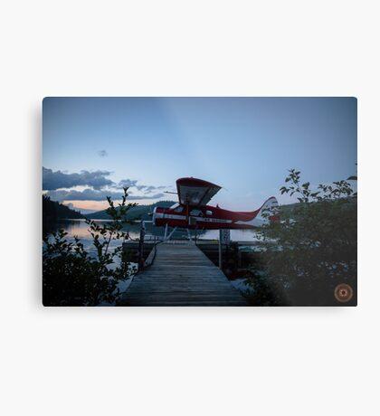 Air Saguenay - Seaplane Photo Metal Print