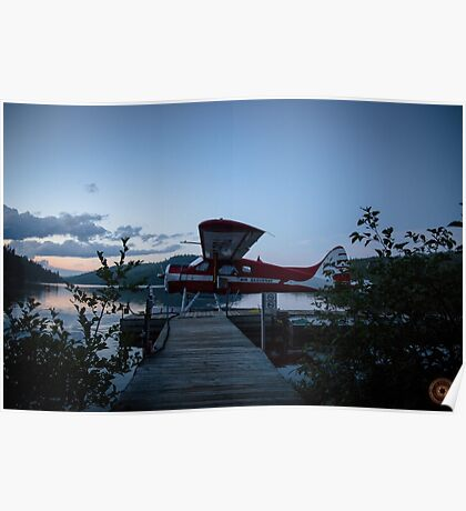 Air Saguenay - Seaplane Photo Poster