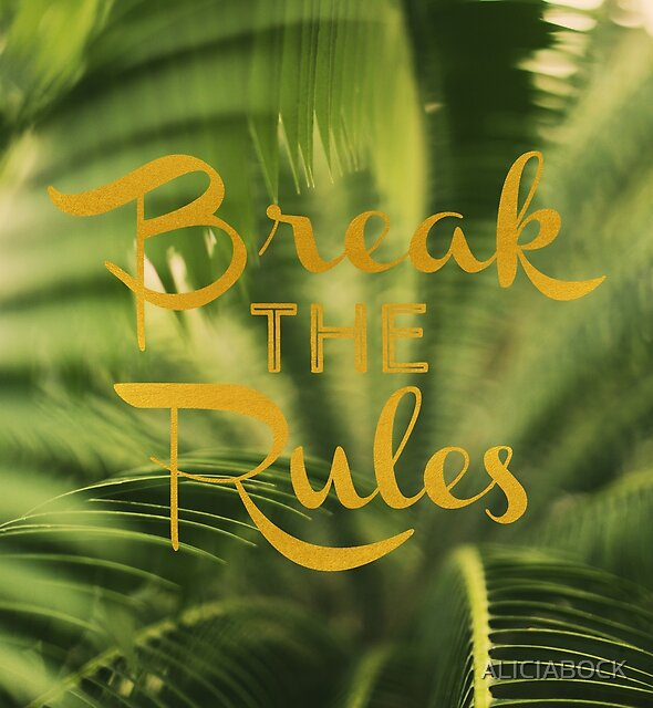 Break The Rules by ALICIABOCK