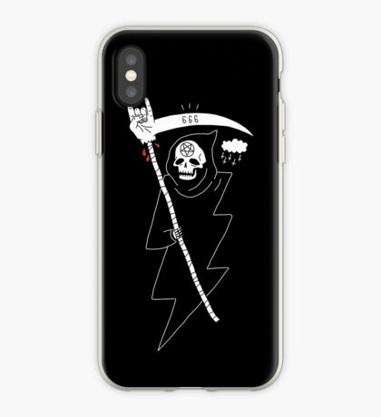 Angel of Death Metal iPhone Case